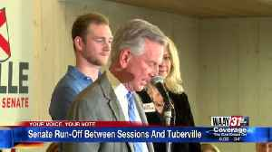 Senator Runoff Election [Video]