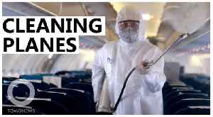 How airlines are sanitizing planes amid the coronavirus outbreak [Video]