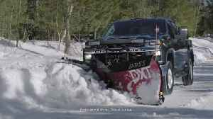 2020 Chevrolet Silverado Winter Plowing [Video]