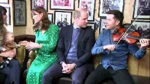 Prince William and Kate visit Tig Coili pub [Video]