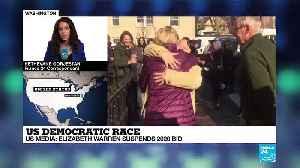 US Democratic race: Elizabeth Warren suspends 2020 bid according to US media [Video]