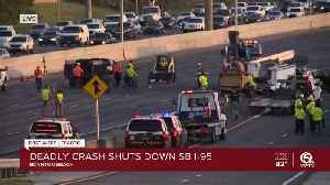 Deadly crashes causes massive delays on SB I-95 in Boynton Beach [Video]