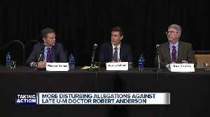 More disturbing allegations against late UM doctor Robert Anderson [Video]