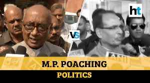 Watch: Digvijaya Singh Vs Shivraj Singh Chouhan on poaching politics [Video]