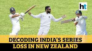 India's New Zealand tour: What went wrong for Virat's men in New Zealand? [Video]