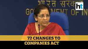 Union Cabinet approves Companies (Second Amendment) Bill, 2019 [Video]