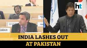 'Cradle of global terrorism:' India slams Pakistan over J&K issue at UNHRC [Video]