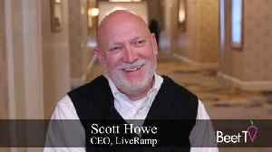 End Of Cookies Is Good News: LiveRamp's Howe [Video]
