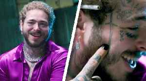 Post Malone Breaks Down His Tattoos [Video]
