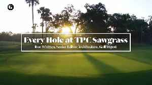 Every Hole at TPC Sawgrass in Ponte Vedra Beach, Florida [Video]