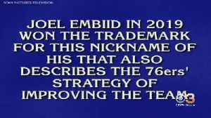 'Do A180': 'Jeopardy' Contestant's Botched Answer Gives Sixers Joel Embiid New Nickname [Video]