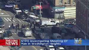 Massive Scene After Man Shot In Washington Heights [Video]