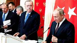 Erdogan, Putin announce Idlib ceasefire after Moscow meeting [Video]