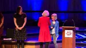 Duchess of Cornwall addresses Women of the World Festival [Video]