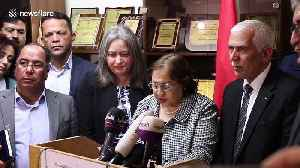 Palestine's minister of health confirms country's first seven coronavirus cases [Video]