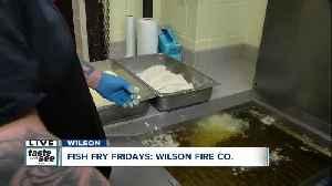 Wilson Volunteer Fire Co. serves over 1,200 fish fry dinners a week [Video]