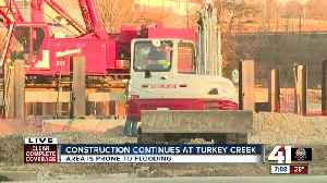 Construction continues at Turkey Creek [Video]