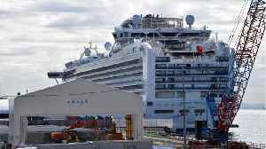 Coronavirus Test Kits Delivered By Air To Cruise Ship [Video]