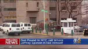 Gun Found In NYC Jail Where Jeffrey Epstein Killed Himself [Video]