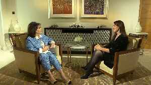 Journalist Baria Alamuddin discusses women's rights & daughter Amal Clooney [Video]