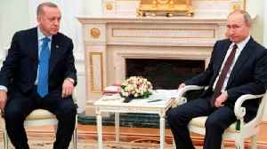 Erdogan and Putin's tense meeting in Moscow [Video]
