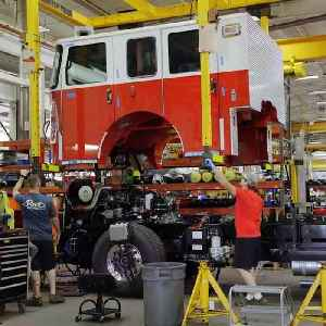 Pierce Manufacturing is the largest producer of fire trucks in the world [Video]