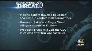 Indiana Resident Who Traveled To Boston Tests Positive For Coronavirus [Video]