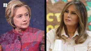 Hillary Clinton Shades Melania Trump's 'Be Best' Initiative [Video]