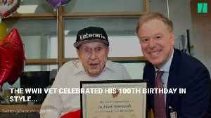 Canadian Veteran Receives Over 90,000 Cards On 100th Birthday [Video]