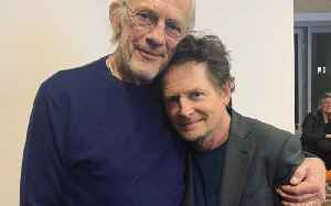 The iconic 'Back to the Future' duo reunited 35 years later [Video]