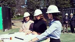Melania Trump Fires Back At Critics Over Tennis Pavilion Photo: 'Contribute Something Good' [Video]