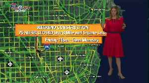 Looking at this weekend's road construction [Video]