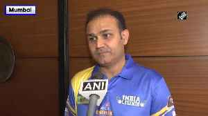 Road Safety World Series 2020 Team India will win the cup says Virendra Sehwag [Video]