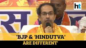 'Parted ways with BJP, not with 'Hindutva'': Maharashtra CM Uddhav Thackeray [Video]