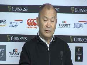 Eddie Jones says England are now a 'better side' than at World Cup [Video]