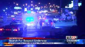 Search for suspect underway [Video]