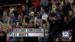 Cascade Christian takes down rival St. Mary's, advances to title game [Video]