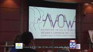 AVOW Campaign Institute kicks off Women's History Month [Video]