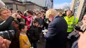 PM visits flood-hit Bewdley to mixed reception [Video]