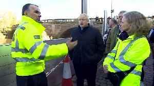 Boris Johnson explains absence during floods [Video]