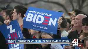 Presidential candidate Joe Biden rallies KC voters [Video]