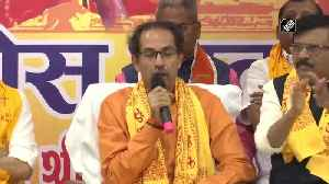 Uddhav Thackeray offers Rs 1 crore for construction of Ram Temple [Video]