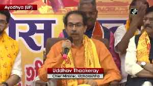 I left BJP not 'Hindutva', both are two different things Uddhav Thackeray [Video]