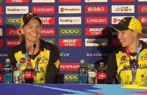 Australia crush India to retain women's Twenty20 World Cup [Video]