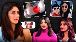 Kareena Kapoor On EX Shahid Kapoor, Cat Fight With Priyanka, Bipasha, Marriage With Saif [Video]