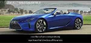 Lexus LC 500 Convertible European Premiere [Video]