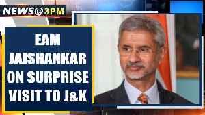 EAM Jaishankar visits J&K, meets families of students stranded in Iran| Oneindia News [Video]