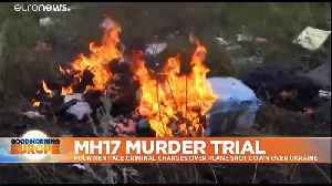 3 Russians, 1 Ukrainian to face trial for alleged involvement downing of MH17 [Video]