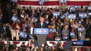 Biden campaigns at Tougaloo and New Hopedays before Mississippi primary election [Video]