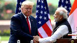 US President Trump's visit to India: trade and security discussed [Video]